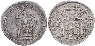 Afbeeldingsresultaat voor 1/8 zilveren dukaat of ' Pietje ' Zeeland 1776
